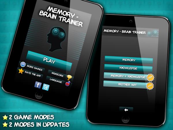 Memory - Brain Trainer